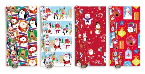 8m Christmas Gift Wrap Stamps